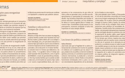 Familias y educación en tiempos de crisis