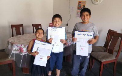Estudiantes fuera de Chile aprenden con Alfadeca