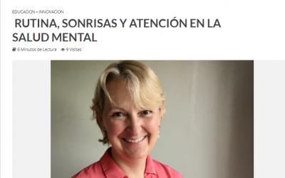 Vuelta a clases: Rutina, sonrisas y atención en la salud mental