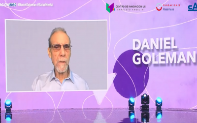 Innovación 2050: Ante masiva audiencia, Daniel Goleman entregó herramientas para mejorar la salud mental