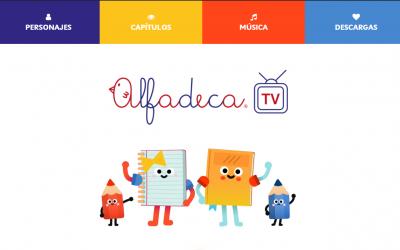 Programa de Lectoescritura AlfadecaTV estrena sitio web